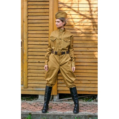 Гимнастерка солдатская