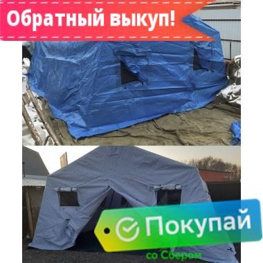 Армейская каркасная палатка М-10