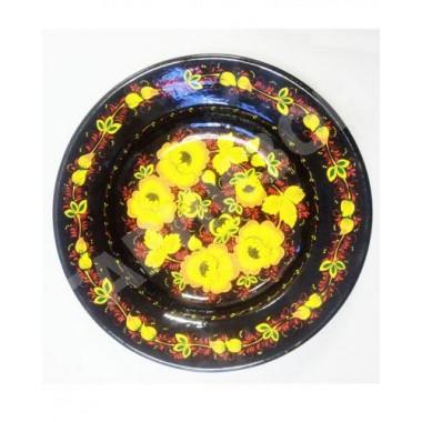 Тарелка алюминиевая (хохлома-Премиум)